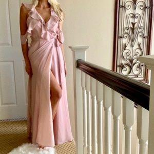 💍🌹Perfect Romantic BB DAKOTA Pink Maxi Dress 4